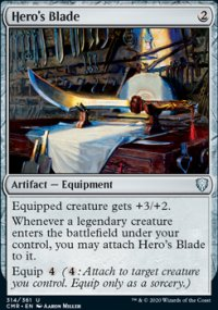 Hero's Blade 1 - Commander Legends