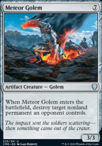 Meteor Golem 1 - Commander Legends