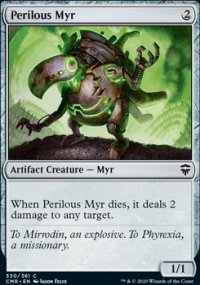 Perilous Myr -