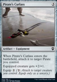 Pirate's Cutlass - Commander Legends