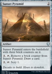 Sunset Pyramid - Commander Legends