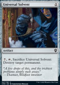 Universal Solvent - Commander Legends