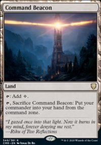 Command Beacon 1 - Commander Legends
