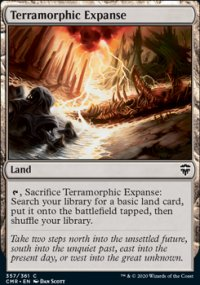 Terramorphic Expanse 1 - Commander Legends
