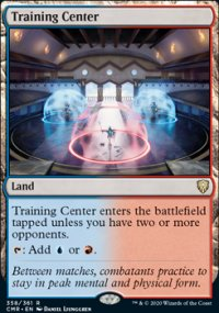 Training Center 1 - Commander Legends