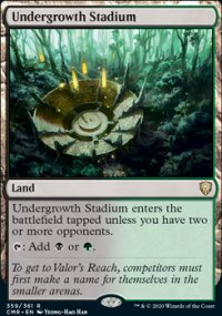 Undergrowth Stadium 1 - Commander Legends