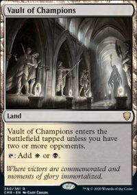 Vault of Champions 1 - Commander Legends