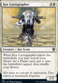 Kor Cartographer 2 - Commander Legends