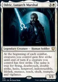 Odric, Lunarch Marshal - Commander Legends