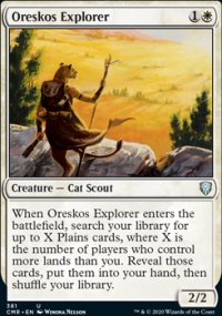 Oreskos Explorer - Commander Legends