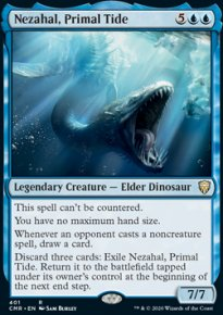 Nezahal, Primal Tide - Commander Legends