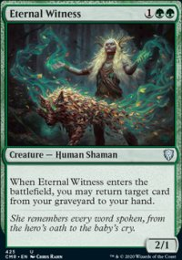 Eternal Witness - Commander Legends