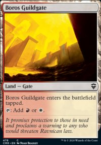 Boros Guildgate - Commander Legends