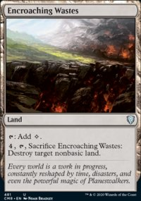 Encroaching Wastes - Commander Legends