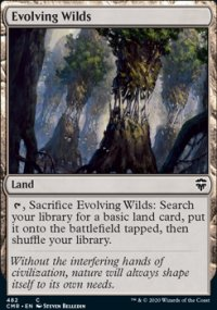 Evolving Wilds - Commander Legends