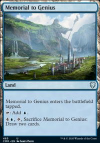 Memorial to Genius - Commander Legends