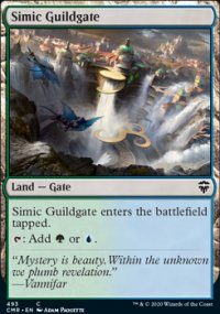 Simic Guildgate - Commander Legends