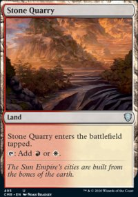 Stone Quarry - Commander Legends