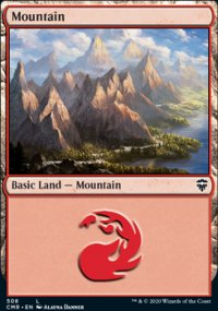 Mountain 1 - Commander Legends