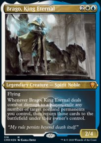 Brago, King Eternal - Commander Legends