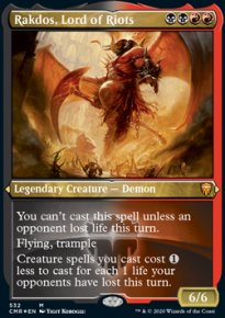 Rakdos, Lord of Riots - Commander Legends