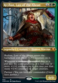 Reyhan, Last of the Abzan - Commander Legends