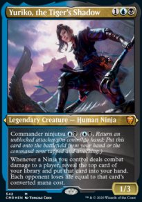 Yuriko, the Tiger's Shadow - Commander Legends