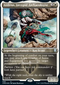 Ardenn, Intrepid Archaeologist 2 - Commander Legends