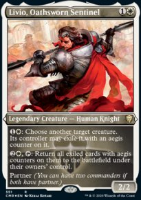Livio, Oathsworn Sentinel 2 - Commander Legends