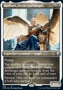 Radiant, Serra Archangel 2 - Commander Legends