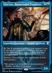 Glacian, Powerstone Engineer 2 - Commander Legends