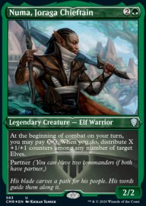 Numa, Joraga Chieftain 2 - Commander Legends