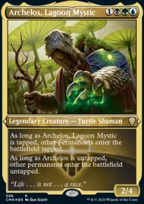 Archelos, Lagoon Mystic 2 - Commander Legends