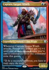 Captain Vargus Wrath 2 - Commander Legends