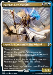 Kangee, Sky Warden 2 - Commander Legends