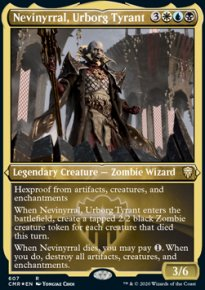Nevinyrral, Urborg Tyrant 2 - Commander Legends