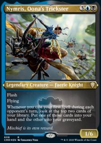 Nymris, Oona's Trickster -
