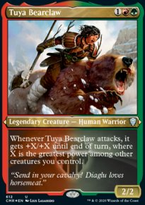 Tuya Bearclaw 2 - Commander Legends