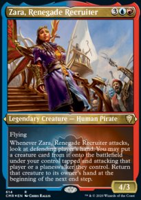 Zara, Renegade Recruiter 2 - Commander Legends