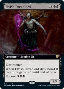 Elvish Dreadlord 2 - Commander Legends