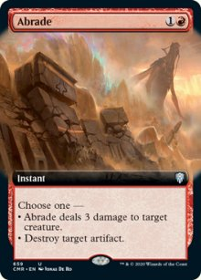 Abrade 2 - Commander Legends
