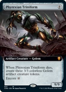 Phyrexian Triniform 2 - Commander Legends