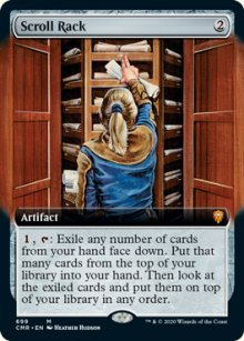 Scroll Rack 2 - Commander Legends
