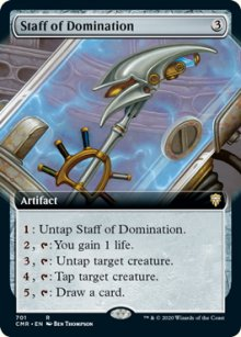 Staff of Domination 2 - Commander Legends