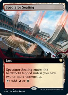Spectator Seating 2 - Commander Legends