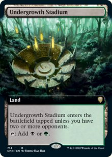 Undergrowth Stadium 2 - Commander Legends