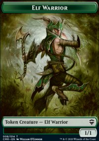 Elf Warrior - Commander Legends