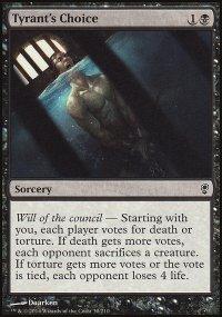 Tyrant's Choice - Conspiracy