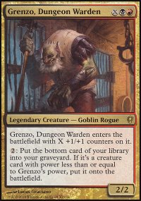 Grenzo, Dungeon Warden - Conspiracy