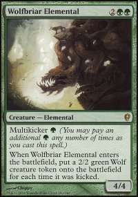 Wolfbriar Elemental - Conspiracy